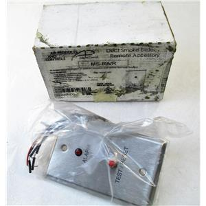 AIR PRODUCTS AND CONTROLS MS-RA/R DUCT SMOKE DETECTOR ACCESSORY, REMOTE ALARM,