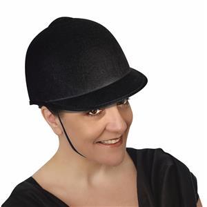 Black Equestrian Horse Rider Costume Hat