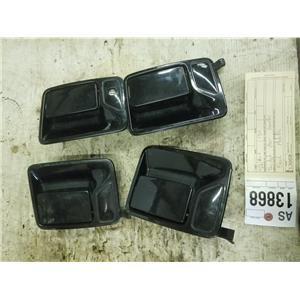 2003-2010 F350 black painted door handles tag as13868