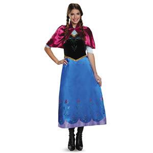 Anna Traveling Disney Frozen Dress Deluxe Costume Medium 8-10