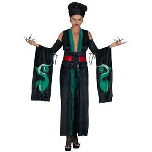 Gothic Dragon Geisha Medusa Adult Costume