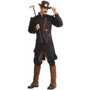 Wild West Steampunk Gentleman Adult Costume