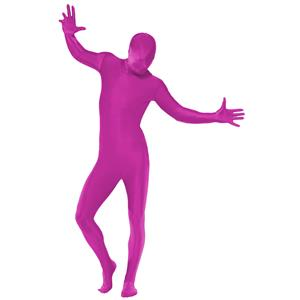 Pink Second Skin Suit Adult Costume X-Large