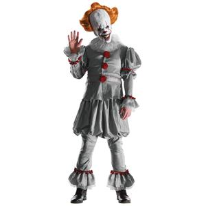 Grand Heritage IT the Movie Version Pennywise Clown Adult Costume with Mask XL