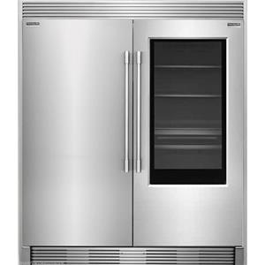 NIB Frigidaire Pro Refrigerator Freezer FPGU19F8TF / FPFU19F8RF + TrimkitEZ2