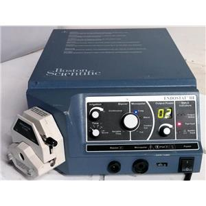 BOSTON SCIENTIFIC ENDOSTAT III RF Generator