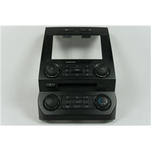 15-17 Ford F150 8 inch Screen Dash Radio Climate Bezel Heated Seats Rear Window