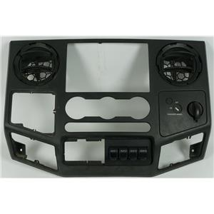 2008-2010 Ford F250 F350 Radio Climate Dash Center Bezel Vents, Aux Switches 12V