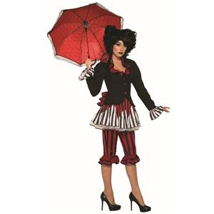 Tightrope Temptress Circus Clown Costume Standard