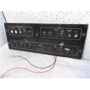 Aircraft Panel Instrument Panel Piper P/N 08166-2