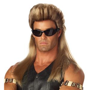 Bail Enforcer Dog The Bounty Hunter Wig Costume Accessory
