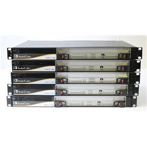 Lot of 5 AudioCodes Mediant 2000 Digital VoIP Media Gateways AS-IS