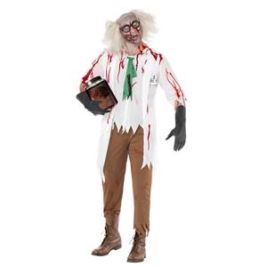 Zombie Science School Teacher Adult Costume Size Large