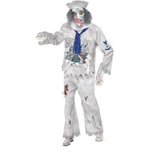Zombie Sailor Adult Costume Large