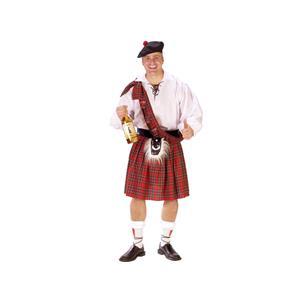 FunWorld Men's Big Shot Scott Costume Size Standard