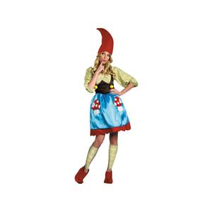 Disguise Women's Ms. Gnome Costume Size Medium 8-10