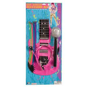 Forum Novelties Women's 80's To The Maxx Pop Singer Costume Accessory Kit