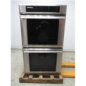 "Thermador Masterpiece Series 30"" SS Double Electric Wall Oven MED302JS EXCLNT"