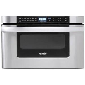 """NIB Sharp 24"""" Auto-Touch™ Control Sensor Cook Microwave Oven Drawer KB6524PSY (LOCAL)"""