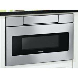"NIB Sharp 24"" Easy Touch Sensor Cook Stainless Microwave Drawer SMD2470ASY (LOCAL)"