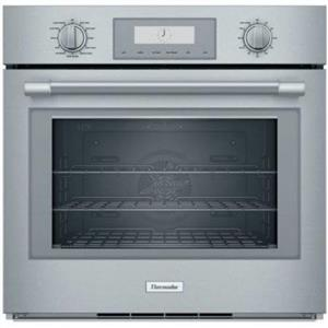 "Thermador Professional Series 30"" 4.5 Cu.Ft. SS Single Built-In Oven POD301W IMG"