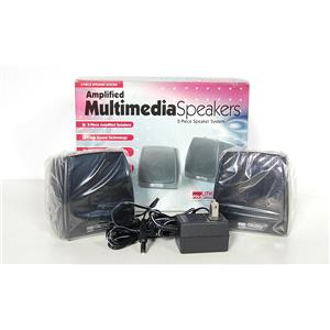 New Micro Innovations Amplified Multimedia Speakers