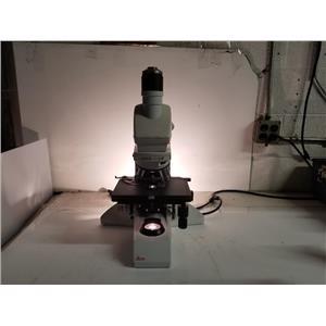 Leica LB30T DMLB Lab Microscope w/ 4 Objectives [No Eyepiece]