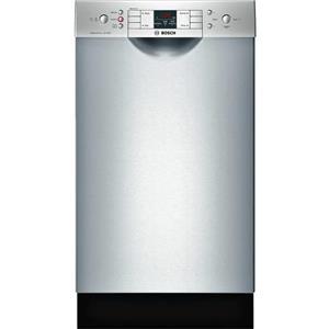 """Bosch 300 Series 18"""" 46 dBA Built-In-Dishwasher SPE53U55UC Excellent"""
