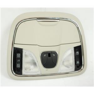 2014-17 Jeep Cherokee Overhead Console Map Lights Sunroof Power Shade Switch