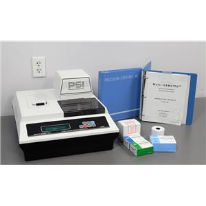 Precision Systems Multi-Osmette 2430 Micro-Osmometer with Liquid Standards