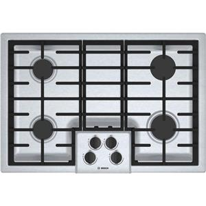 Bosch 500 Series NGM5056UC 30 Inch Gas Cooktop Sealed Burners Description