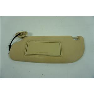 2006-2010 Ford Explorer Driver Side Sun Visor with Lighted Mirror Adjust Bar