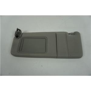 2007-2011 Toyota Camry Driver Side Sun Visor with Covered Mirror and Strap