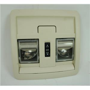 2007-2012 Jeep Liberty Overhead Console with Auto Sunroof Switch and Map Lights