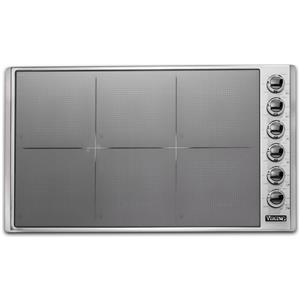 Viking 36 Inch Magnequick LED Induction Ceramic Surface Cooktop VICU53616BST