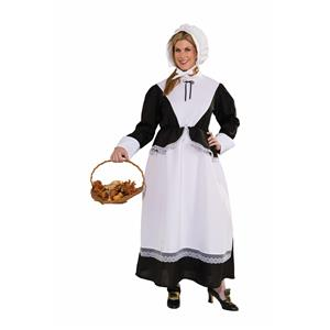 Pilgrim Woman Plus Size Adult Costume