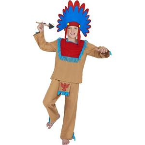 Indian Boy Child Costume Size Medium Age 7-9