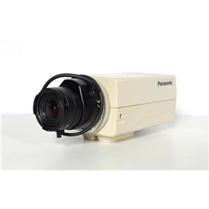 "Panasonic WV-CP244 Color Security Camera 3.5-10.5mm 1:1.0 1/3"" CS Lens"