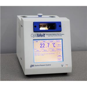 SRS Optimelt MPA100 Automated Melting Point System