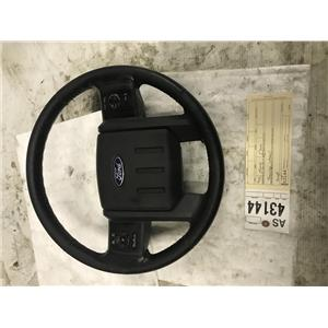 2011-2013 Ford F350 6.7L powerstroke Lariat steering wheel tag as43144