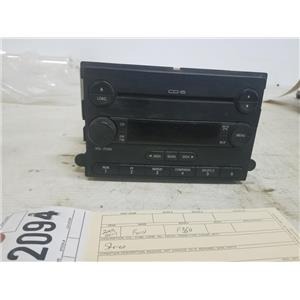 2005-2007 Ford F250/F350 factory stereo cd player 5c3t-18c815-aj tag as72094