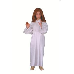 Jesus White Robe Child Costume Size Large 12-14