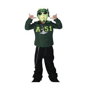 D/Ceptions 2: Martian G Alien Child Costume Size Medium 7-8