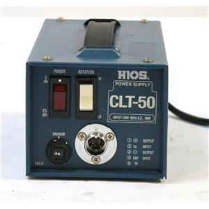 HIOS CLT CL-50 60 100 6500 Electronics Precision Screwdriver Power Supply QTY