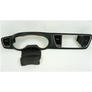 2015-2018 Kia Sedona Surround Dash Trim Bezel with Vents and Column Boot