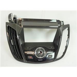 2013-2016 Ford Escape C-Max Radio Dash Trim Bezel for Titanium Trim NAV Vent