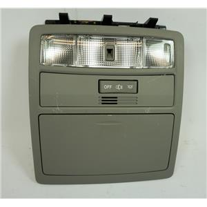 2008-2013 Toyota Highlander Overhead Console with Map Ambient Lights and Storage