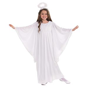 White Heavenly Angel Child Costume Size Large 12-14