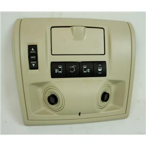 08-16 Caravan Town & Country Overhead Console Sunroof Hatch Switch LED Light