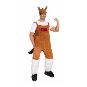 Bud the Stud Adult Horse Funny Costume